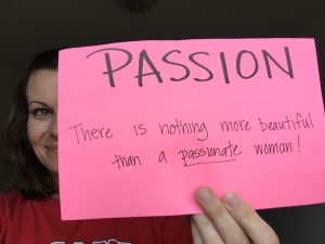 Beauty is...being passionate