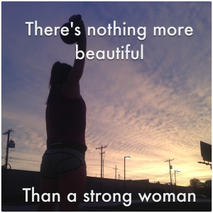Beauty is...knowing your own strength