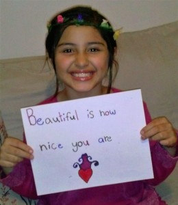 Beautiful is how nice you are.