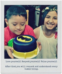 Love yourself. Respect yourself. Value yourself. After that, you will respect and understand every human being.