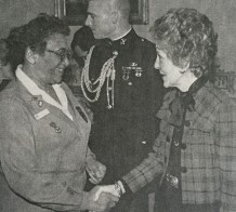 With First Lady Nancy Reagan